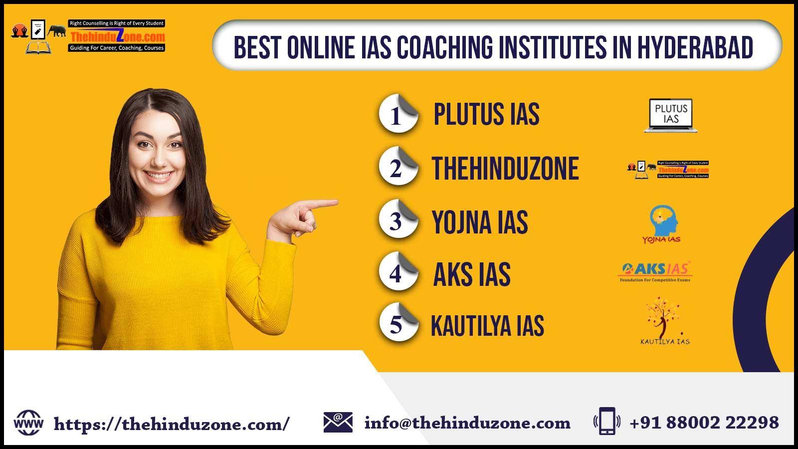 Top 10 Online IAS Coaching In Hyderabad