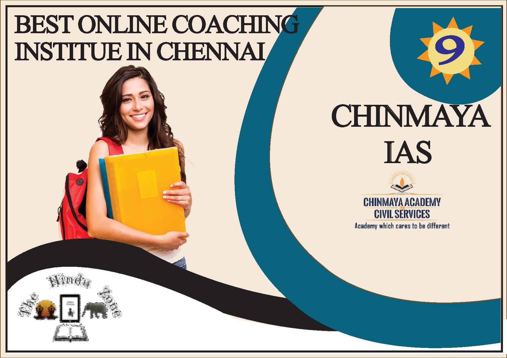 Chinmay IAS Coaching In Chennai