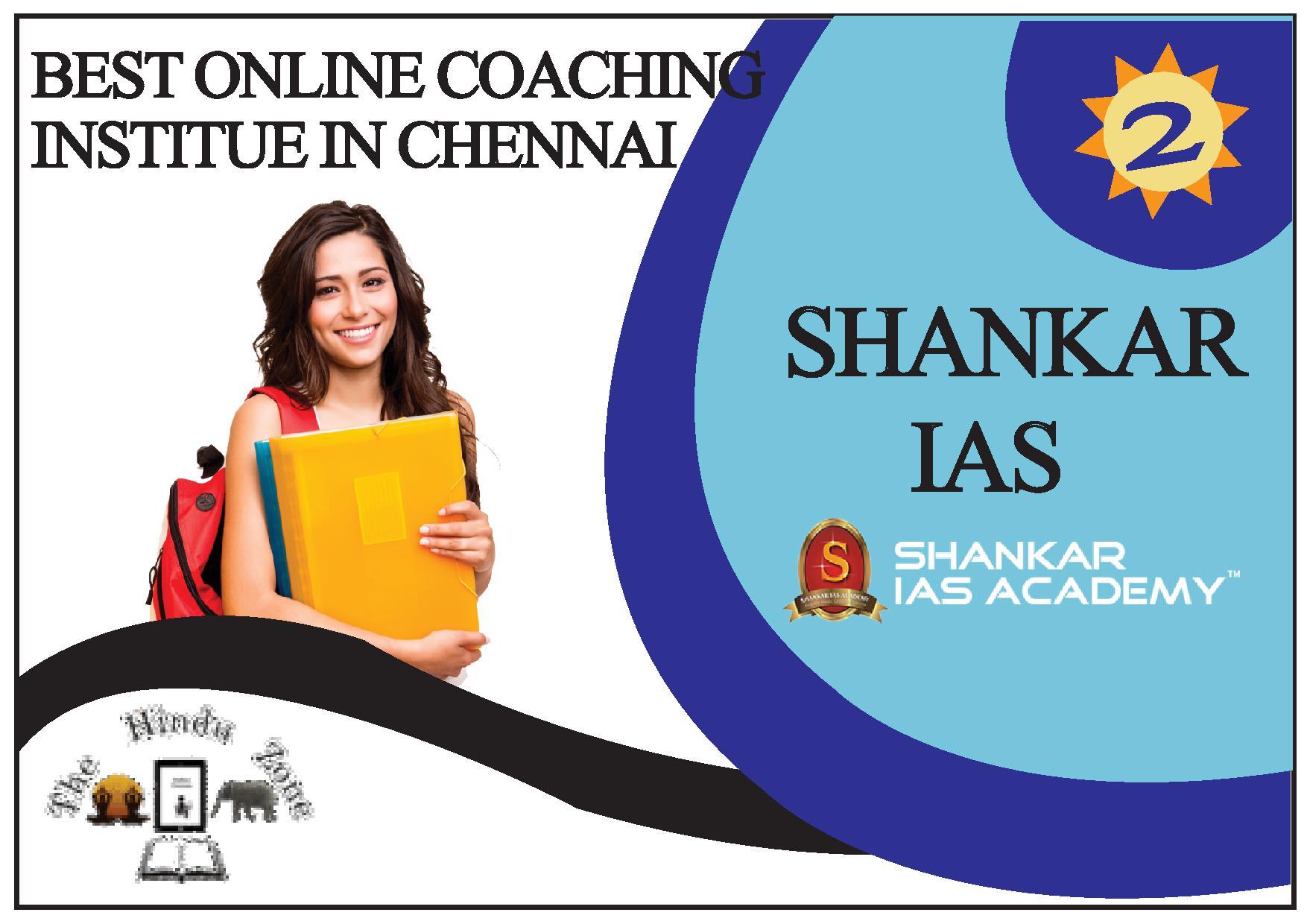 Shankar IAS Online Coaching in Chennai