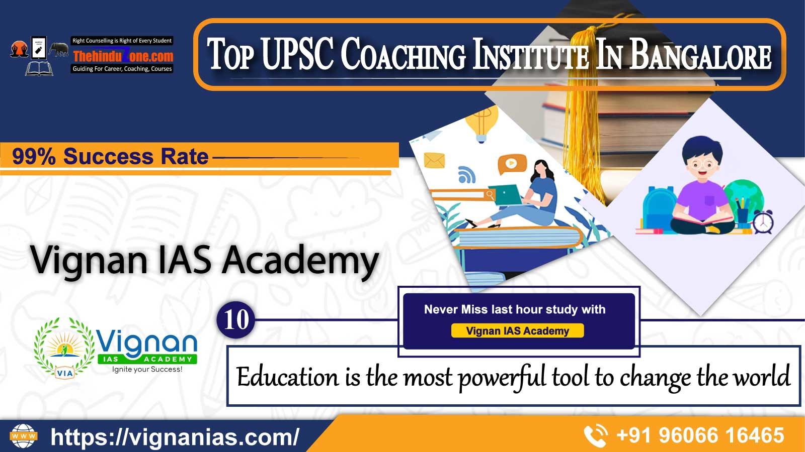 best ias coaching institutes in Bangalore