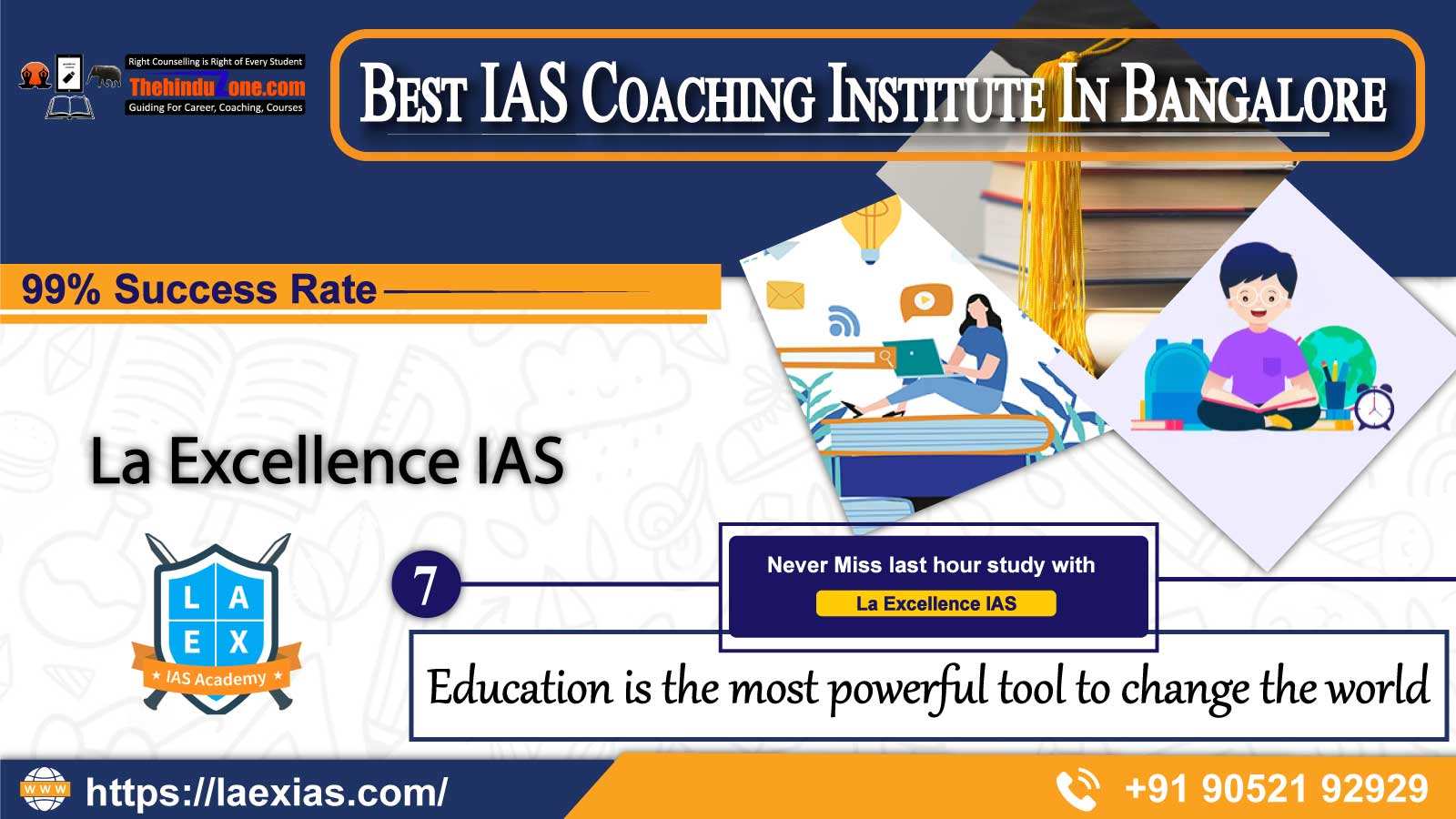 La Excellence IAS Coaching In Bangalore