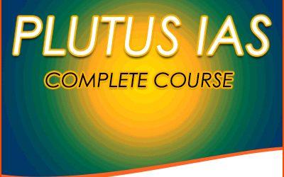 PLUTUS IAS COMPLETE COURSE