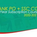 BANK PO + SSC CGL 1 Year Subscription Course 2020-2021