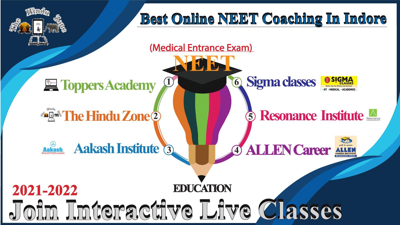 Best Online NEET Medical Coaching In Indore