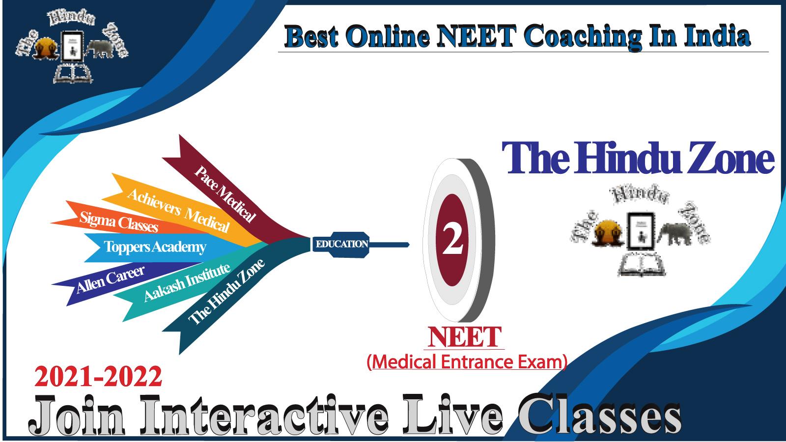 The hindu zone online coaching for neet