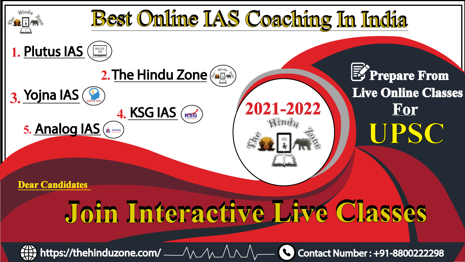 Best Online ias coaching in India