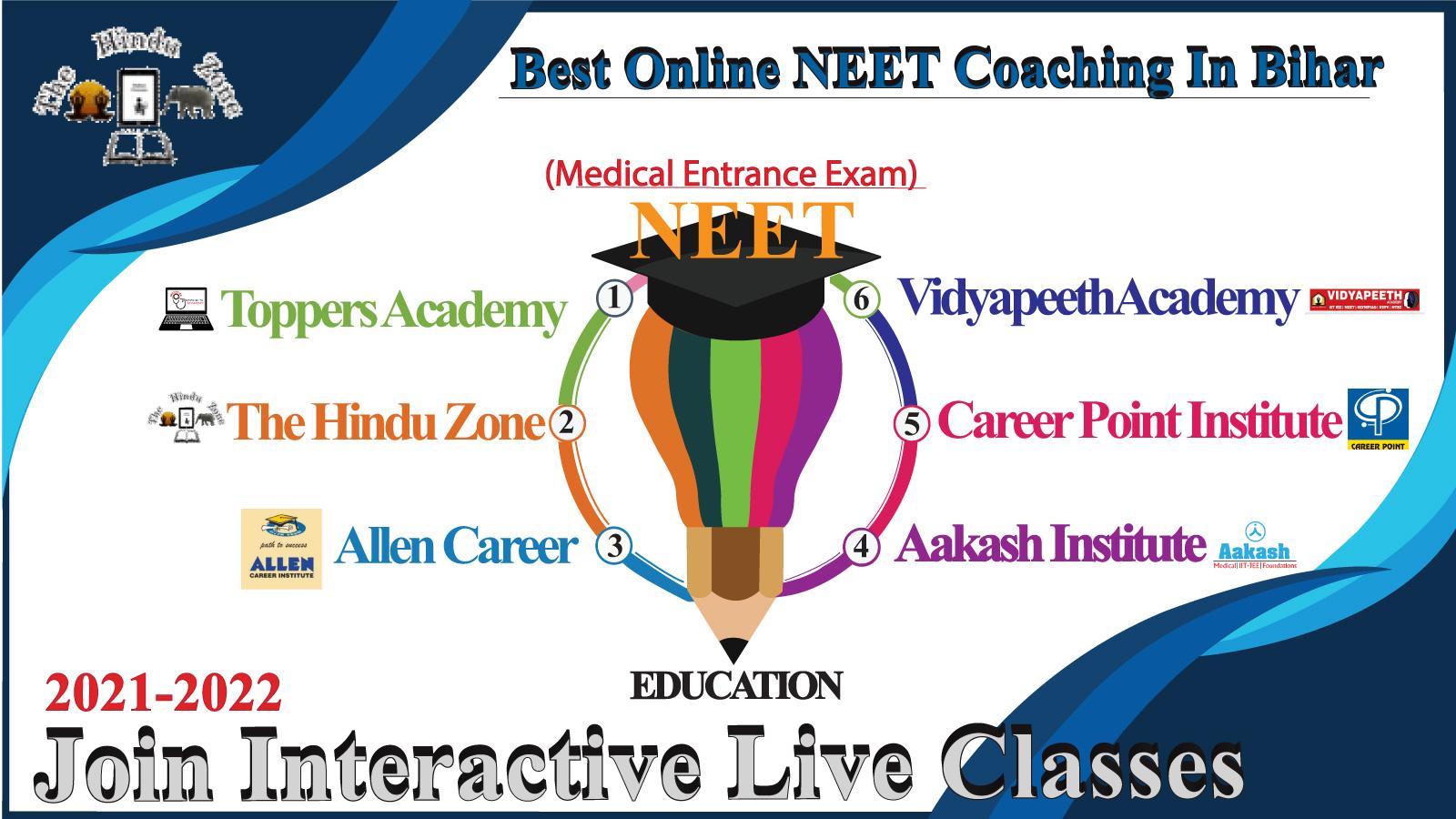 Top NEET Coaching Classes In Bihar