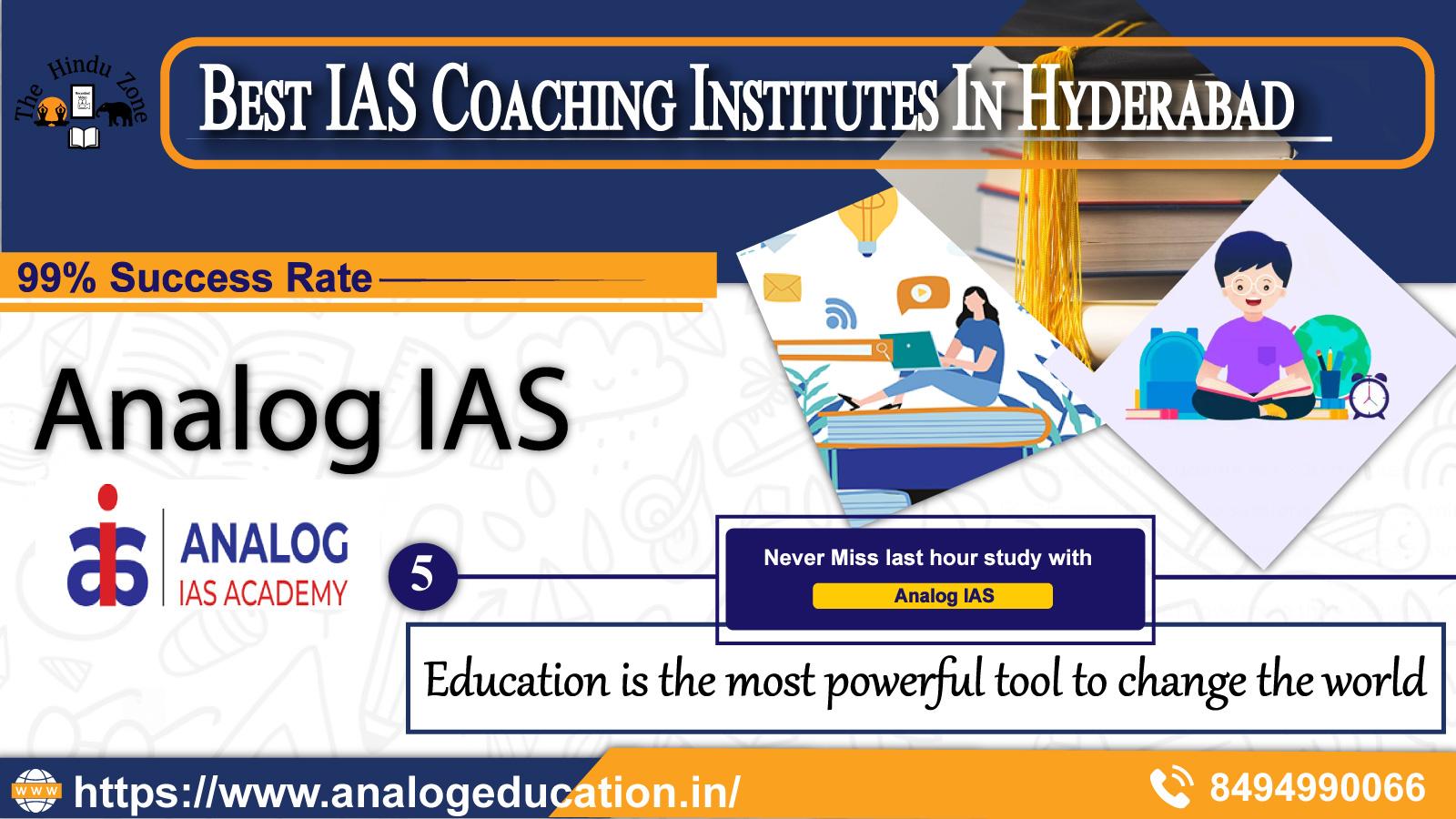 best ias institutes in hyderabad