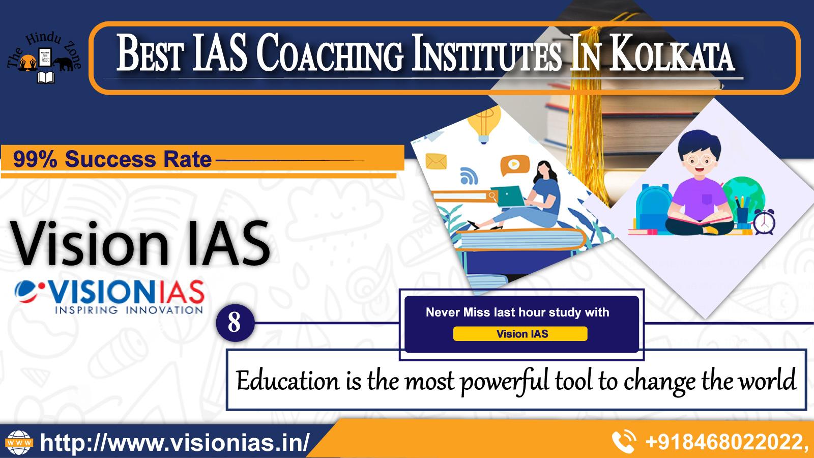 Vision IAS Coaching In Kolkata