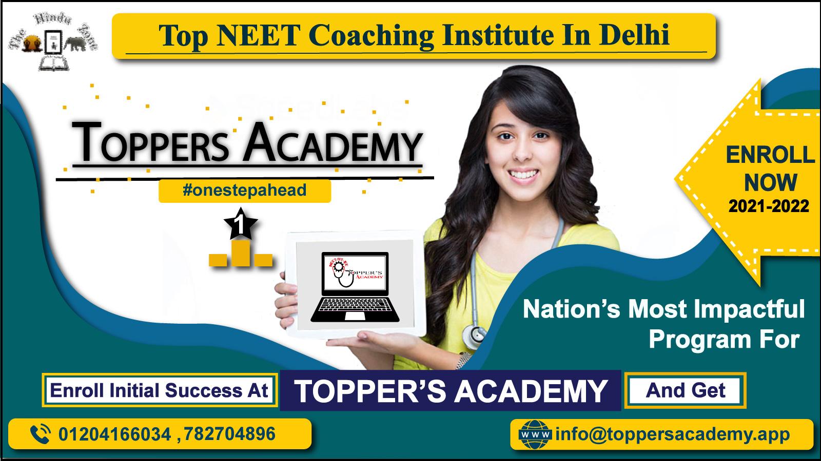 top neet coaching centres in Delhi