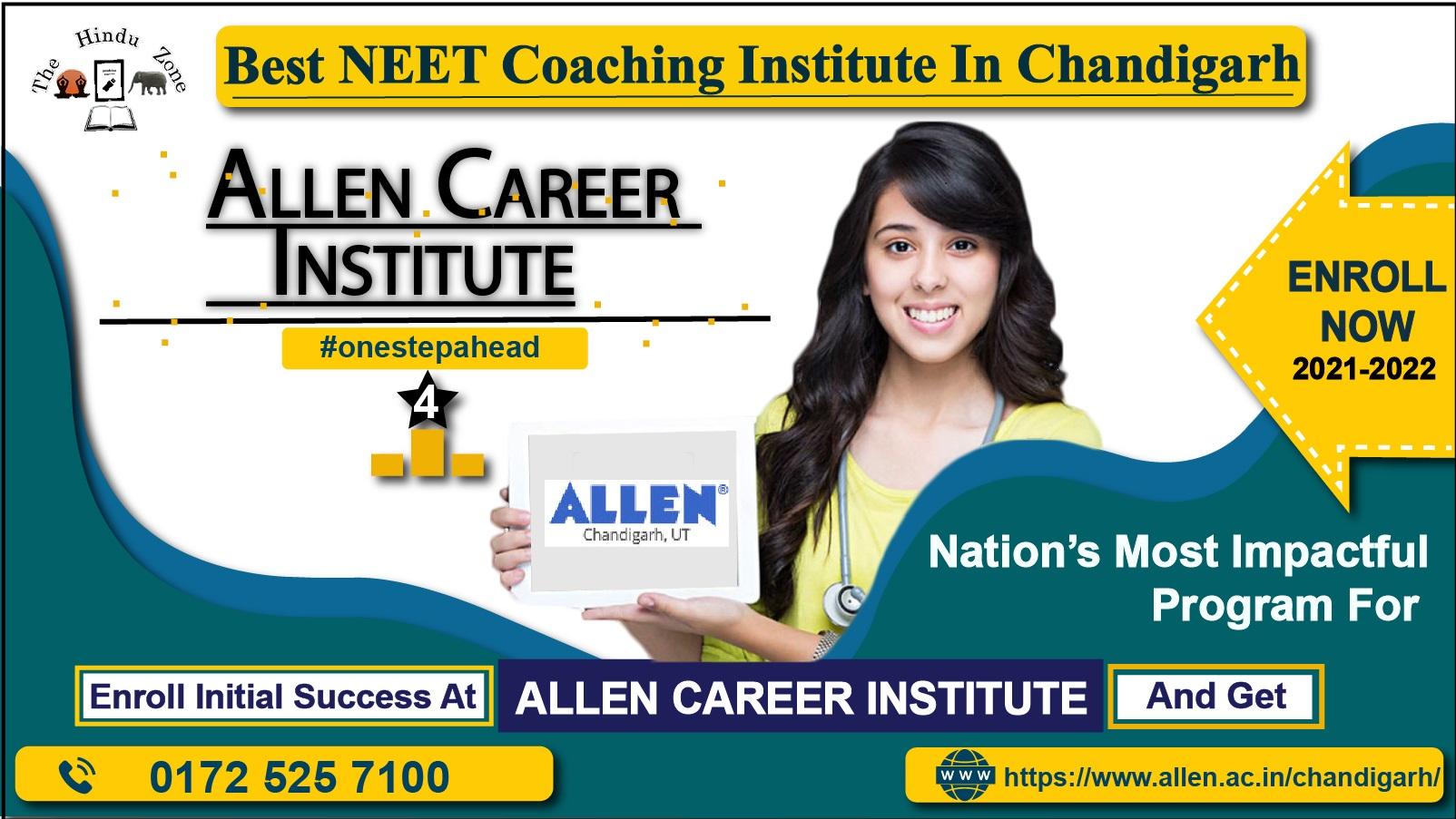 Allen Career Institute For neet Exams