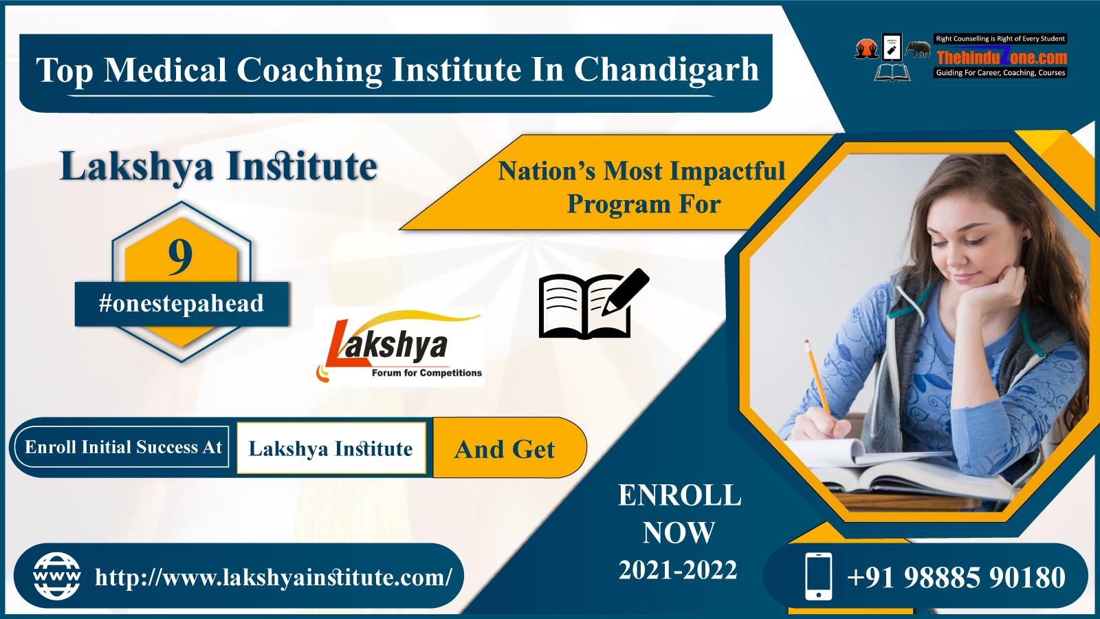 Lakshya Institute: Best NEET Coaching In Chandigarh
