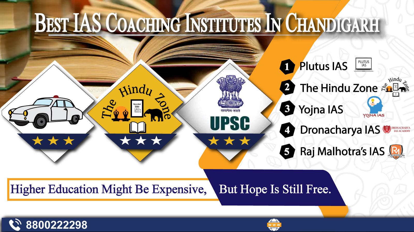 Top IAS Coaching Institutes In Chandigarh