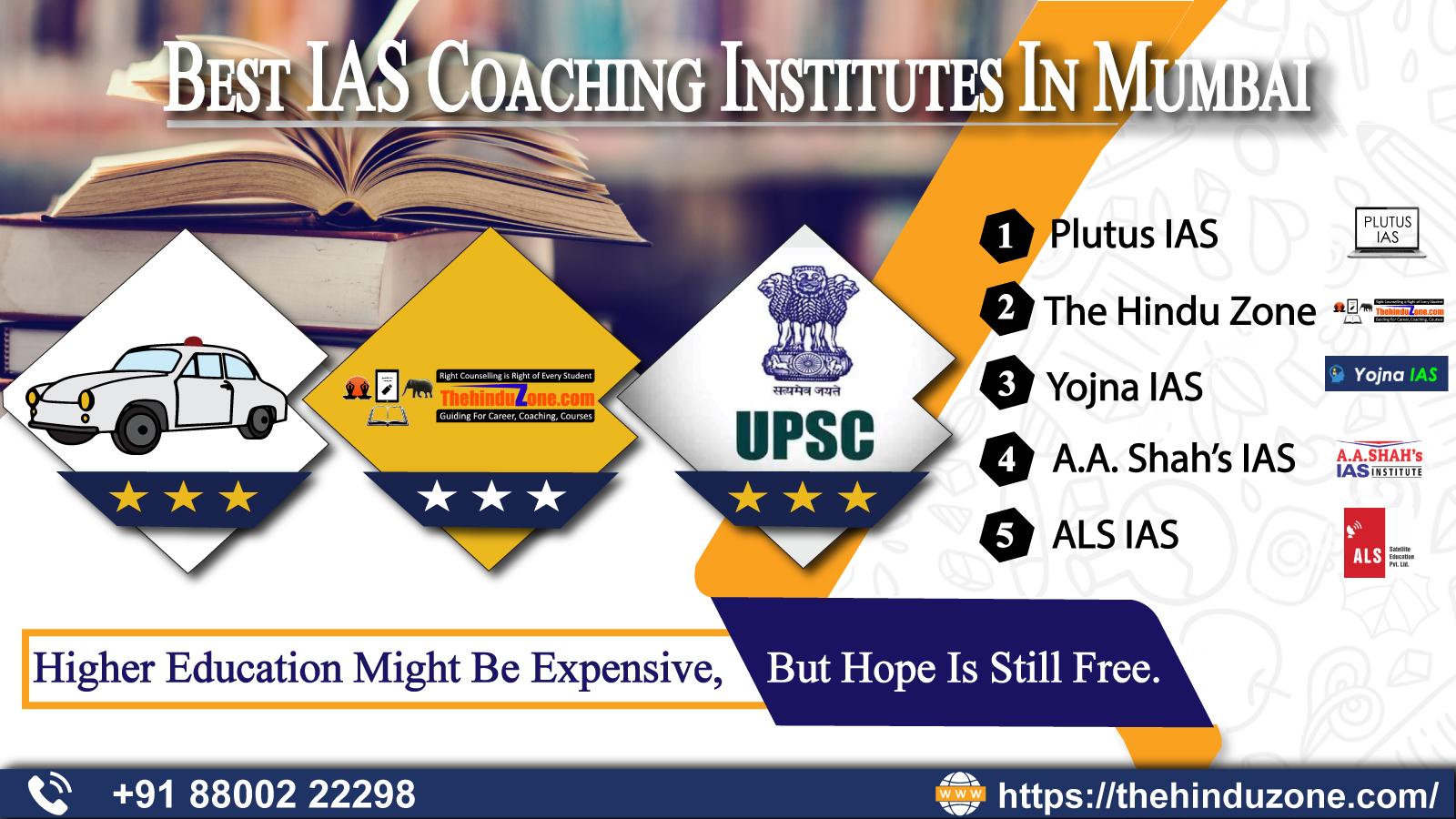 Top 10 IAS Coaching Institutes In Mumbai
