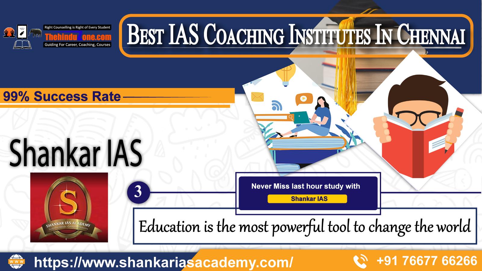 shankar IAS Coaching In Chennai