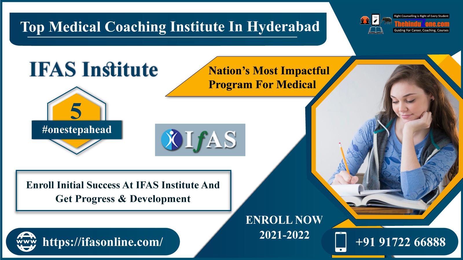 IFAS NEET Coaching Institute In Hyderabad