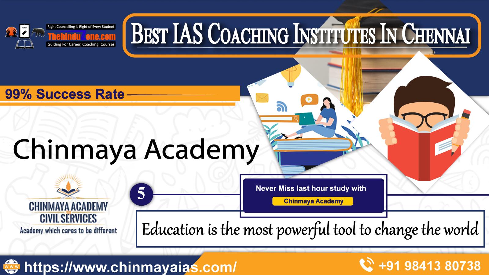 Chinmaya IAS coaching In Chennai