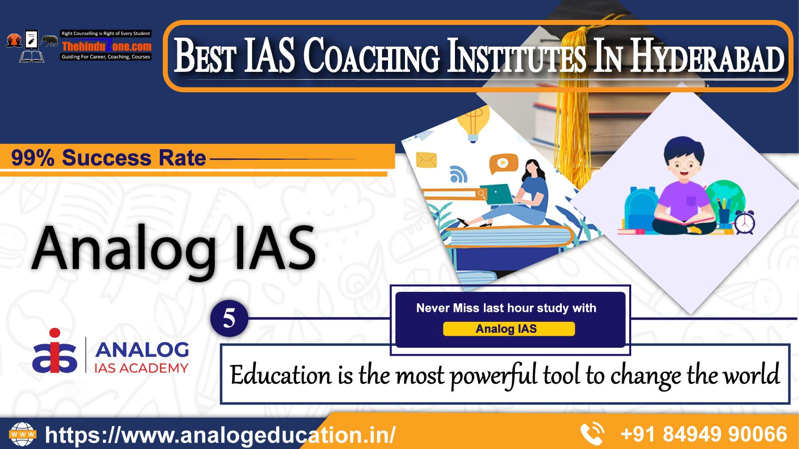 Analog IAS Academy In Hyderabad