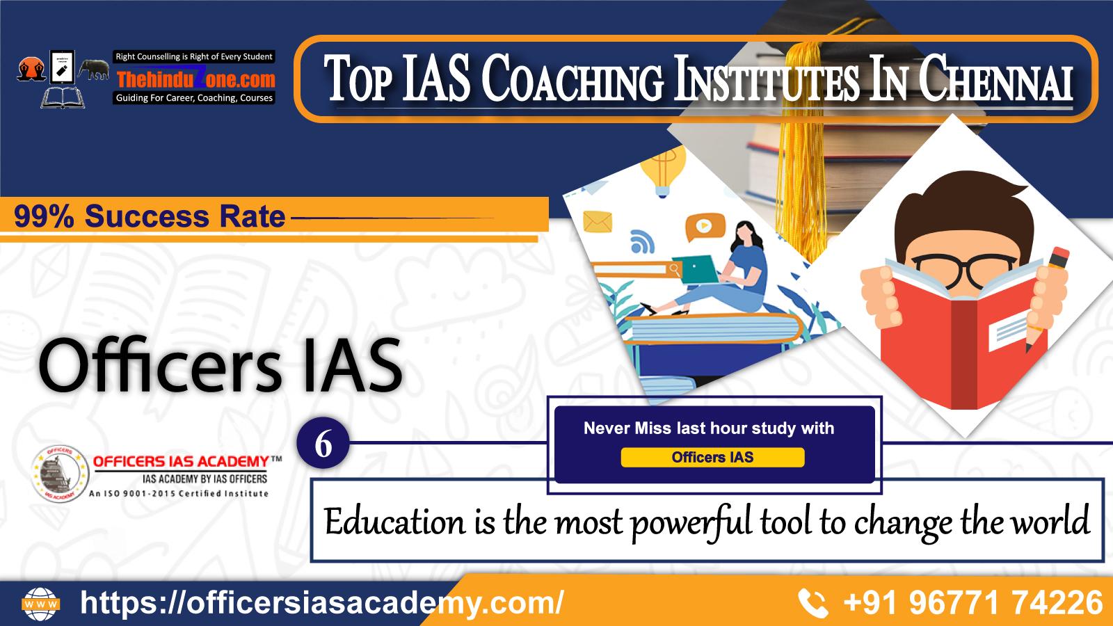 Top IAS Coaching Institutes In Chennai