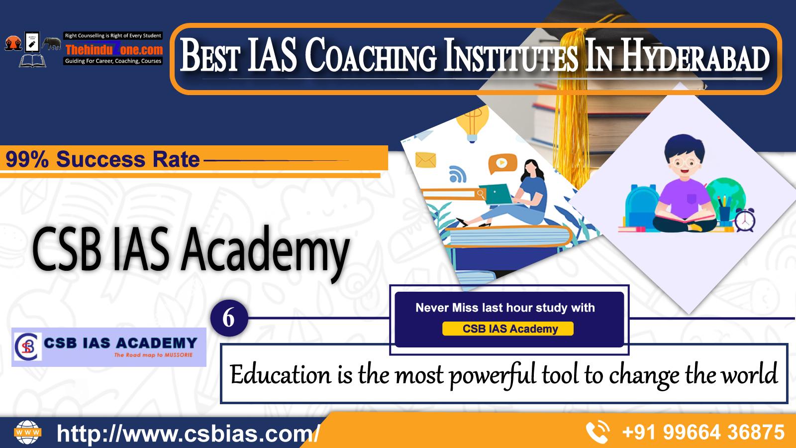 CSB IAS Coaching In Hyderabad