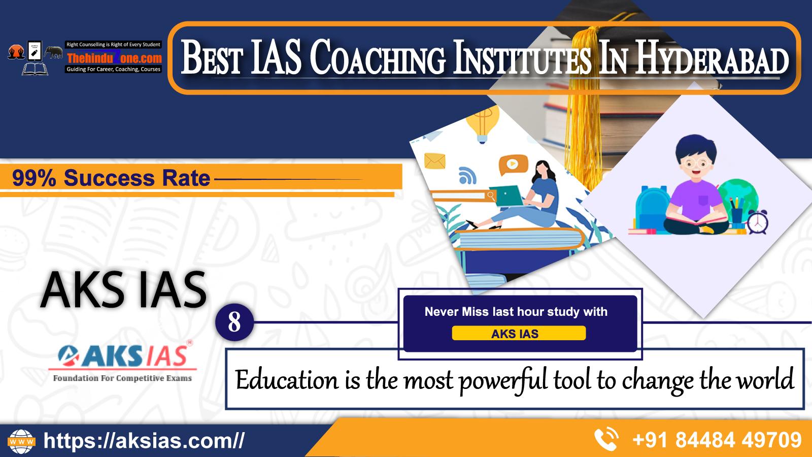 AKS IAS Coaching Institute In Hyderabad