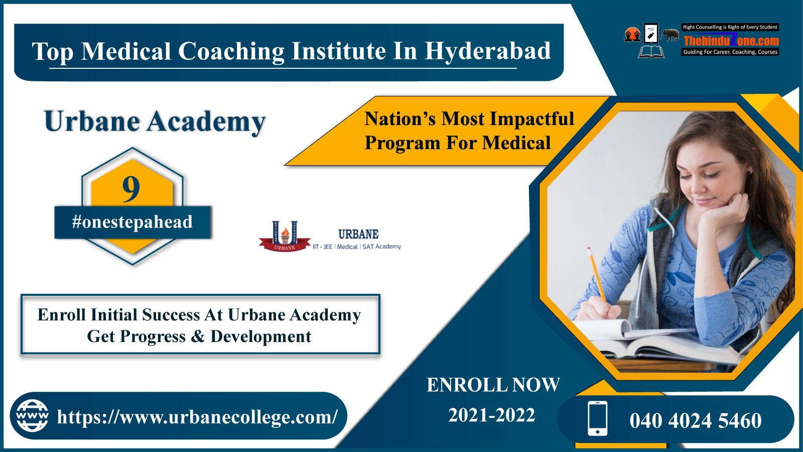 Urbane Academy: Top NEET Coaching In Hyderabad