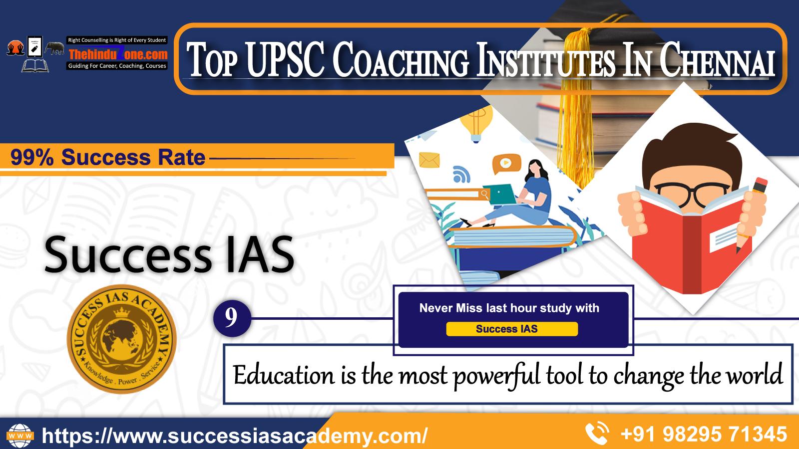 Top 10 IAS Coaching Institutes In Chennai