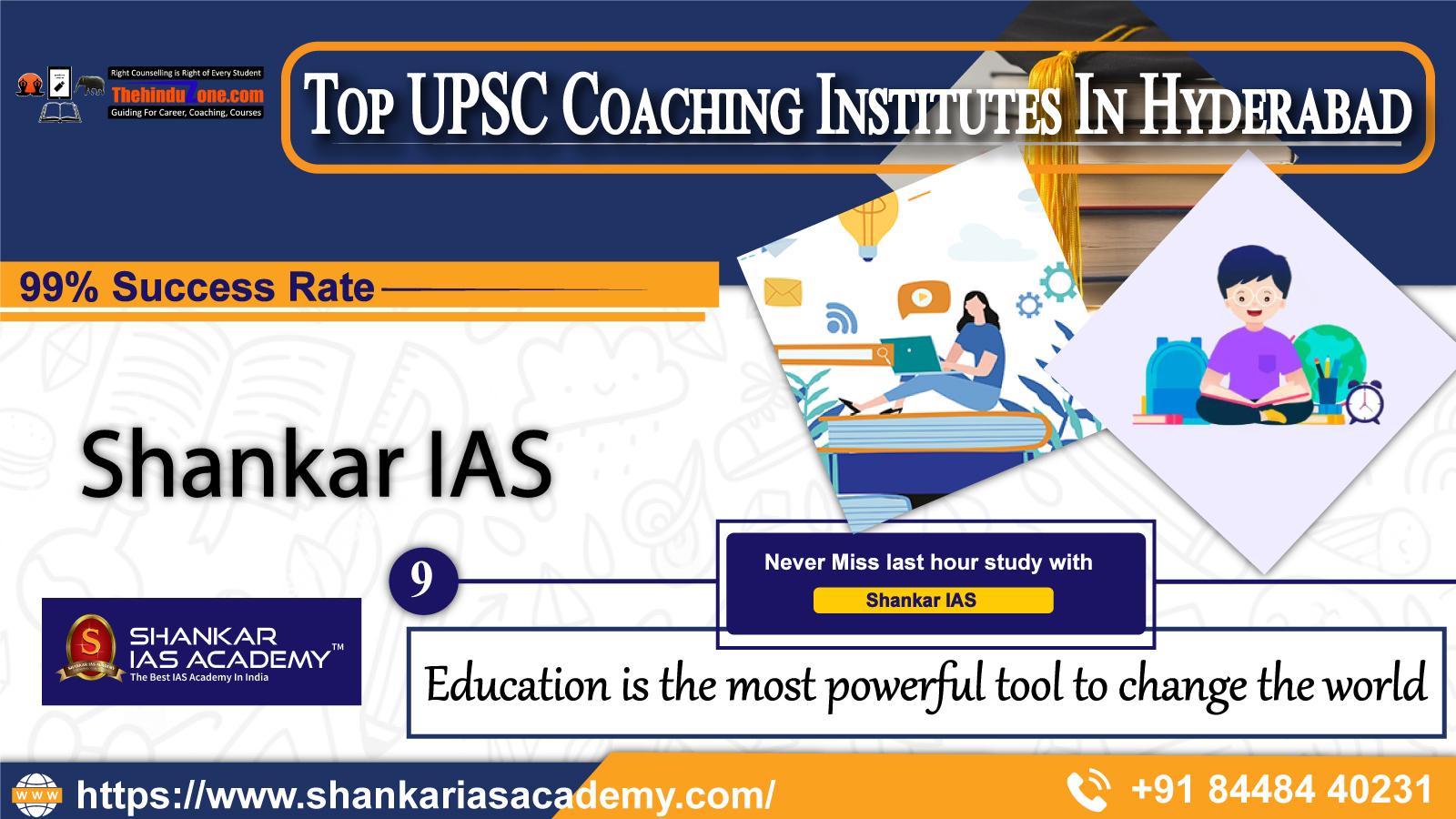 Shankar IAS Coaching In Hyderabad