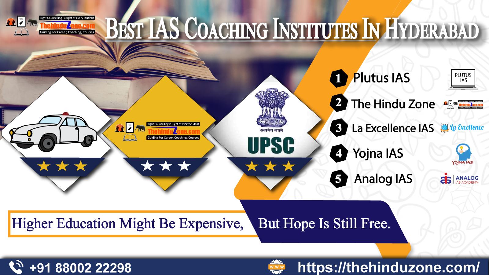 Top 10 IAS Coaching Institutes In Hyderabad